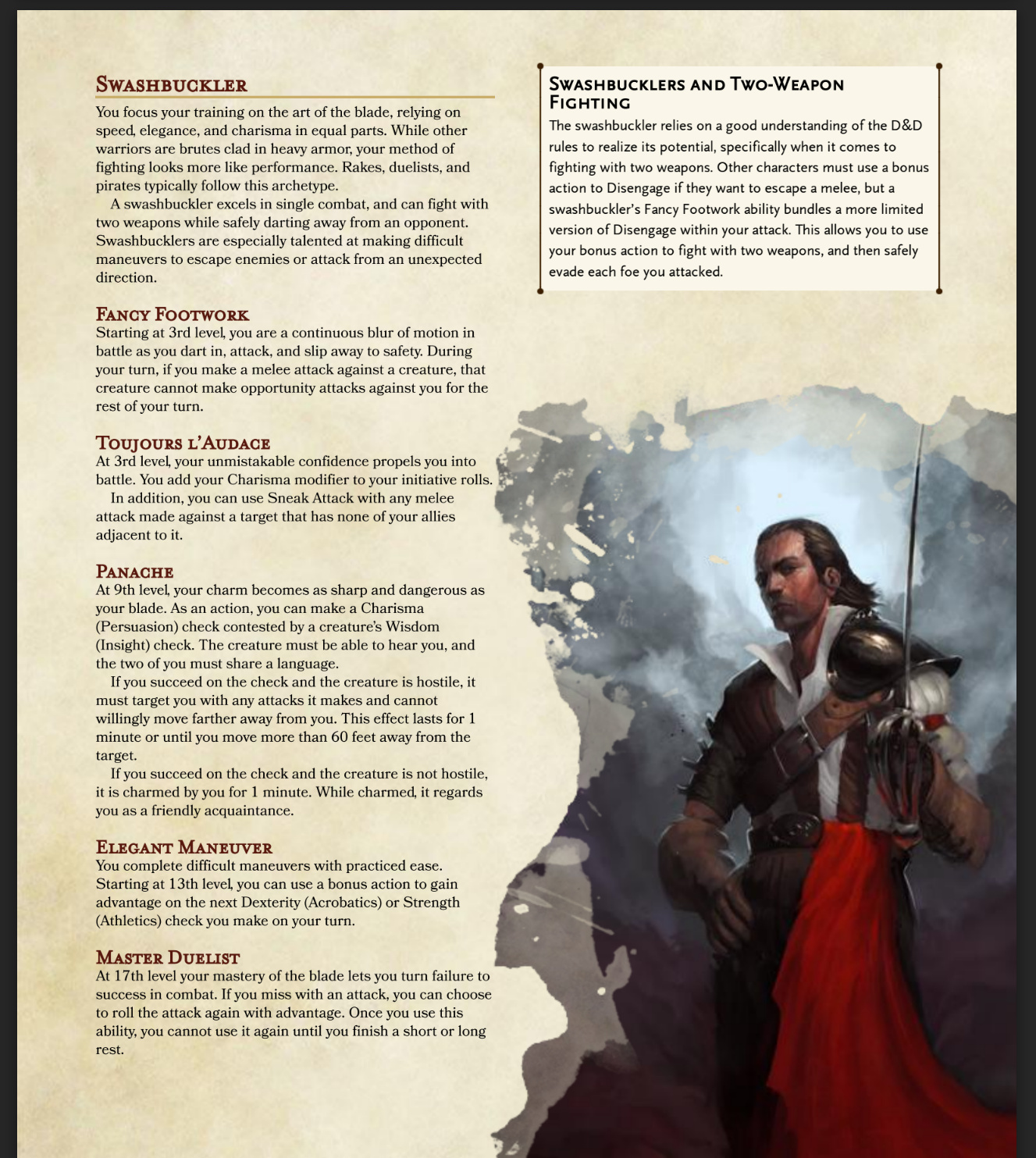 5e Unearthed Arcana: PHB Style! - General RPG Discussion